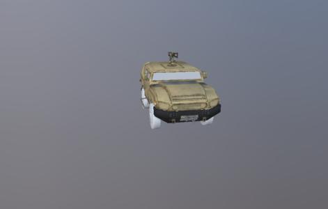 现代军事越野车