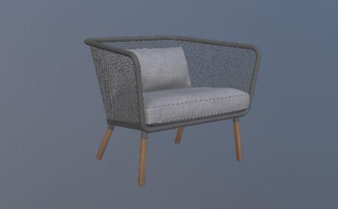 瑞典现代休闲椅1