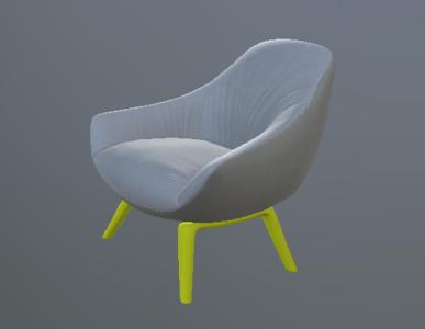意大利现代休闲椅