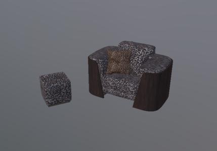 单人沙发组合