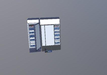 现代百事可乐冰柜