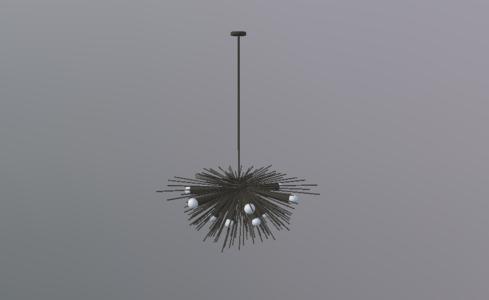 美式吊灯1