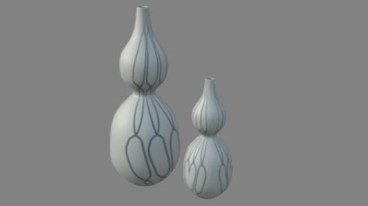 葫芦花瓶摆件