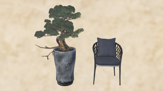 新中式家具摆设
