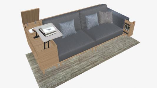 多功能组合沙发